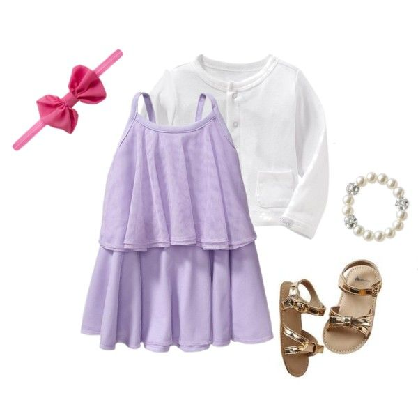 Little Girls Spring Style by headbandsofhope on Polyvore featuring Headbands of Hope, Stella & Dot, Old Navy and Gap #springstyle #kidsfashion #headbandsofhope #hopestyle #stylehope #gap #oldnavy #stelladot