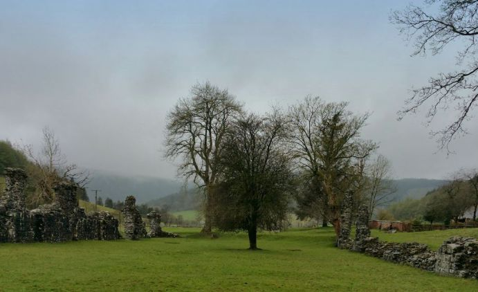 Ruins, of Abbey, Cwmhir today … Wales, Medieval, Ruined, Развалины, руины, Countryside, Fields by Alexandra Cook http://linandara.com/ruins-of-abbey-cwmhir-today-wales-medieval/