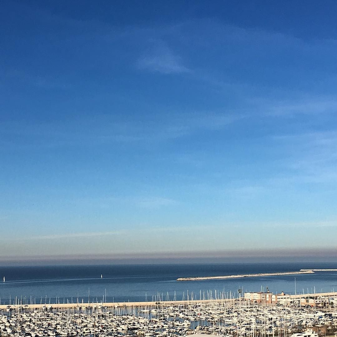 Marina. #marina #boat #sea #adriatic #sky #sun #landscape #igers #igersitalia #igersmarche #igersancona