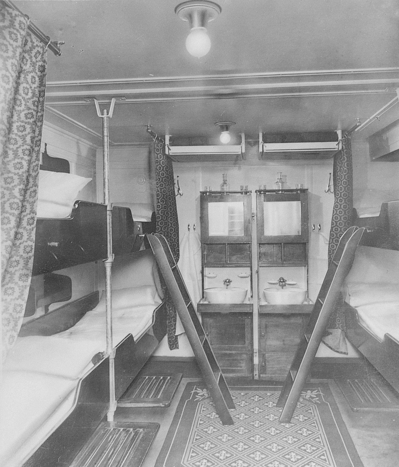 3rd Class Cabine On The Steamship Columbus Emigration Steamship Ellis Island