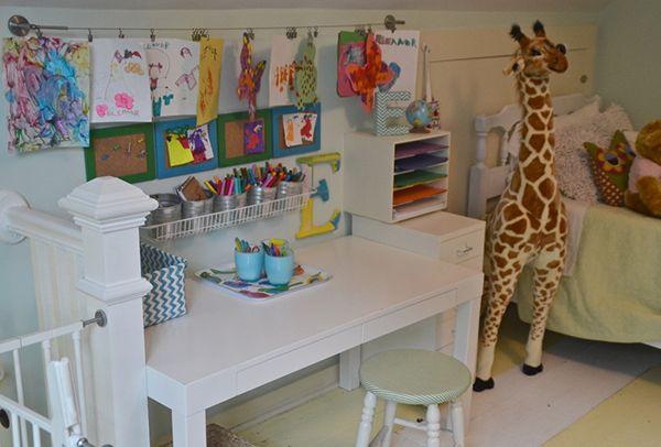 Des idées pour aménager un espace de création dans la chambre de ...