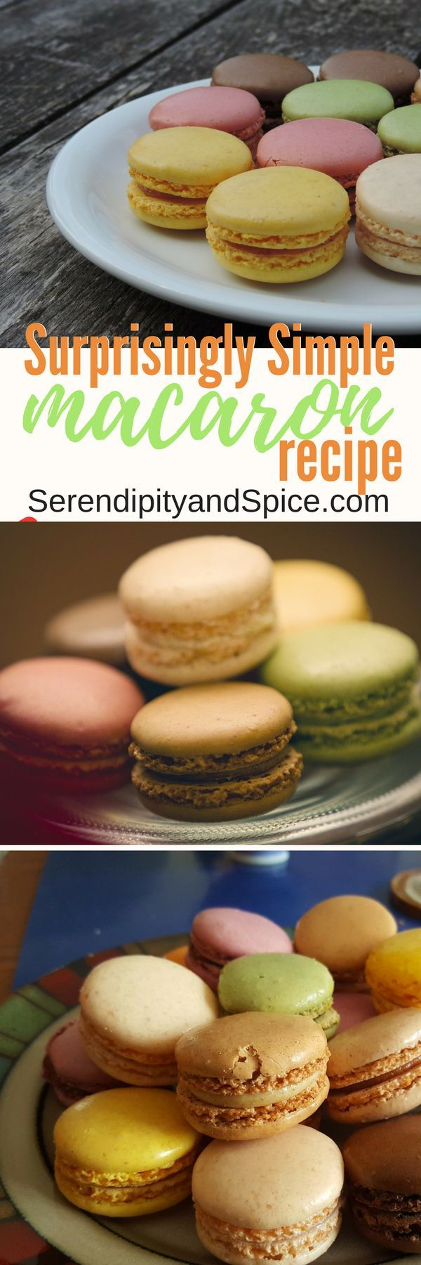 Easy to make macarons that taste like they came straight from a french bakery or pastry shop! #Cookies #Pastry #EasyRecipe #Dessert #Sweets #Easter #Spring