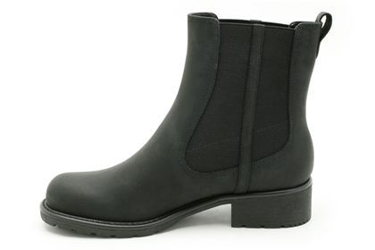 a1732d56b8 Womens Casual Boots - Orinoco Club in Black Leather from Clarks shoes