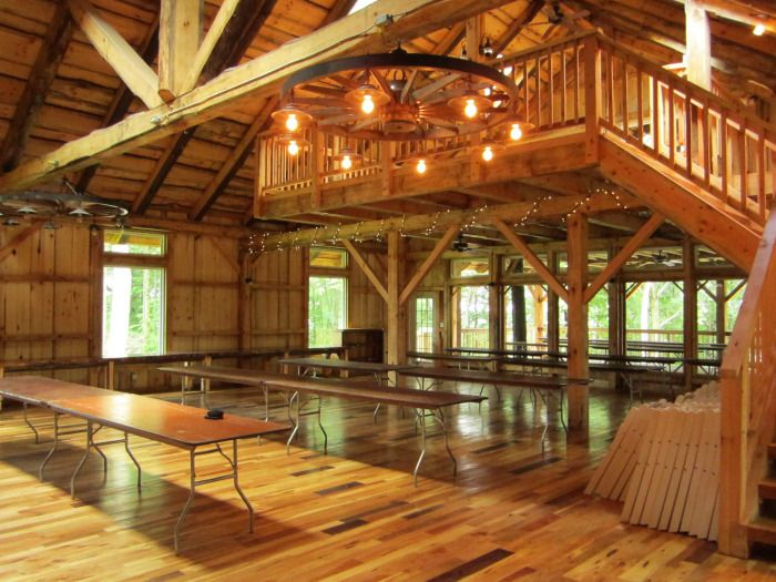 Rustic Barn Venues Inside Of The Grand Barn Image Via