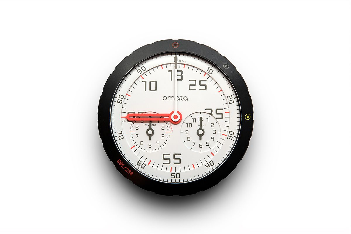 Back To the Future: OMATA Analog GPS Speedometer | Cycle EXIF