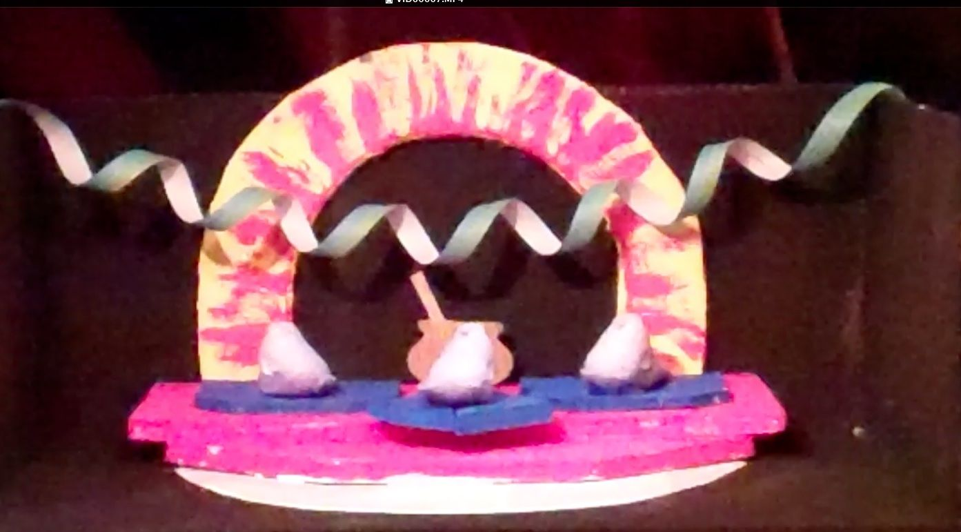"""The Peeps reenact """"The Knight of the Burning Pestle"""" by Foothill College's Carlos and Ivanna"""