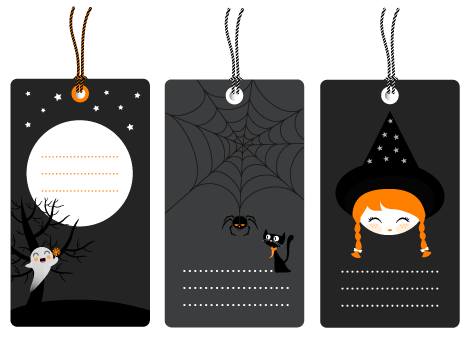 Another Set of 3 Halloween Tags