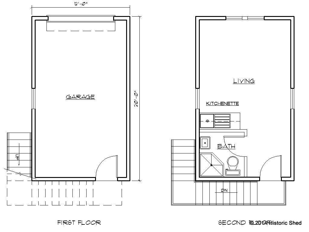 single garage plans