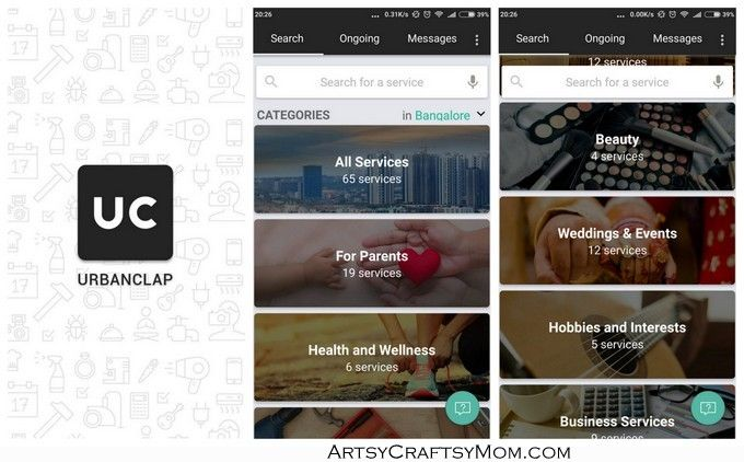 We offer customization of Urban Clap like apps development at an