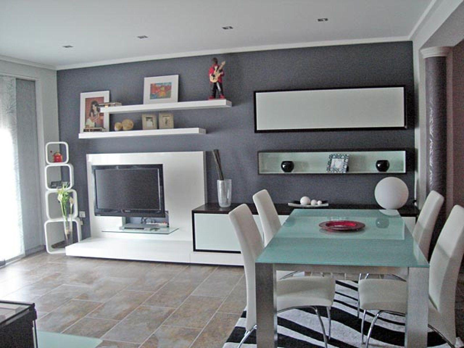 Pintura salones ambiente pintura luxens salones y color - Simulador decoracion salon ...
