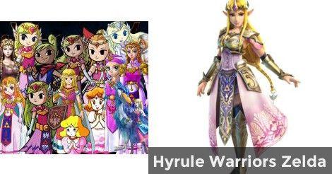Hyrule Warriors Zelda   Which Princess Zelda are you?