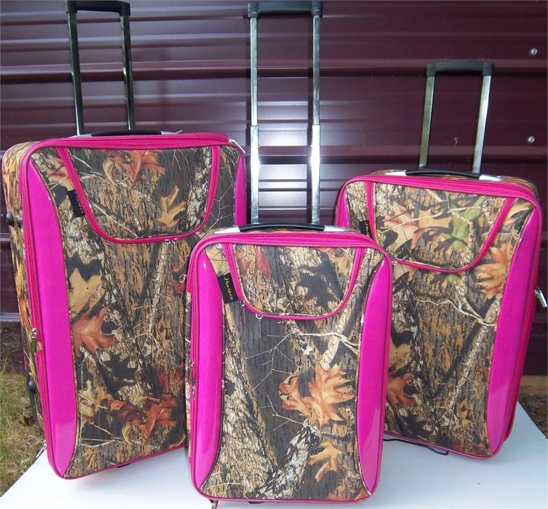 my next luggage set! | Camo | Pinterest | Luggage sets