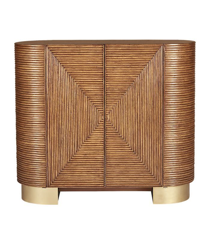 Avalon Rattan Bar