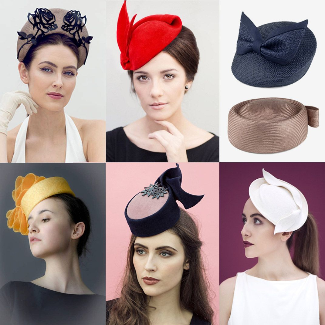 2e55b15640ec0 34 Modern Wedding Guest Hats and Fascinators - Pillbox and vintage style  hats