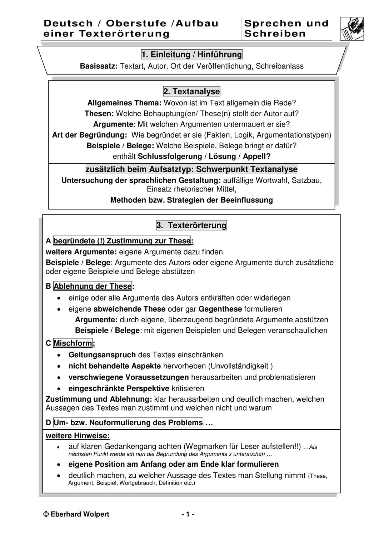 Vergleichende Textanalyse Methodik Und Beispiel 10