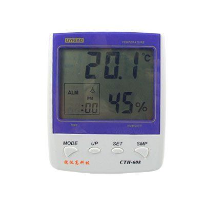 Amico Laboratory Office Lcd Display Digital Thermometer Hygrometer Cth 608 By Amico 13 90 Indoor The Hygrometer Digital Thermometer Temperature And Humidity