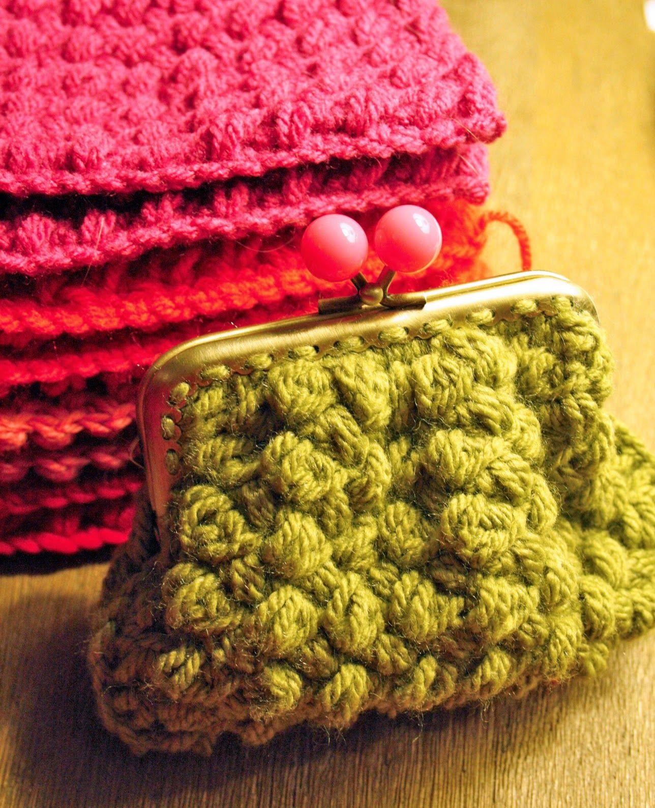 ponnekeblom: romantisch kniptasje | haken - zakjes en zo | Pinterest ...