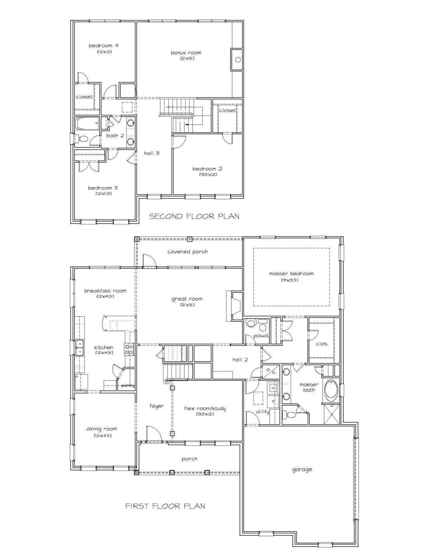 Lasalle V Side Load Garage Boyl Floorplans Sunrise Homes