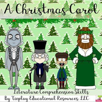 A Christmas Carol | Christmas carol, Reading comprehension skills, Reading comprehension