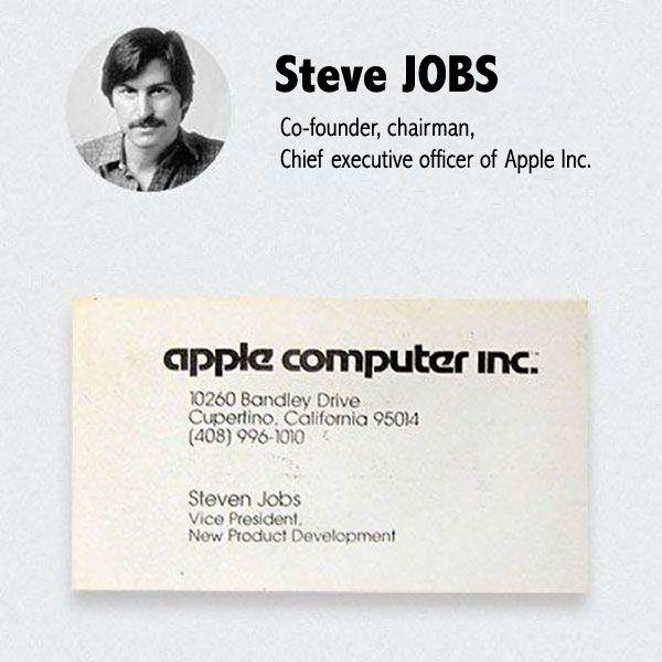apple business card - Vertom