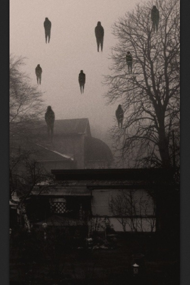 Collection of creepy and unnerving images