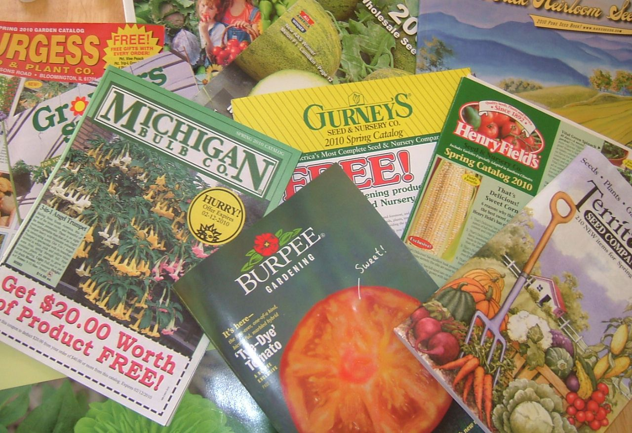 Directory of Companies Offering MailOrder Seeds and
