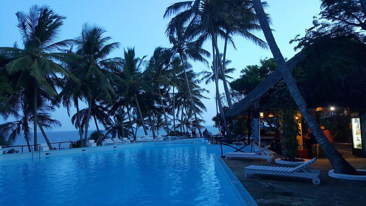 (7) Twitter Holiday vacations, Mombasa beach