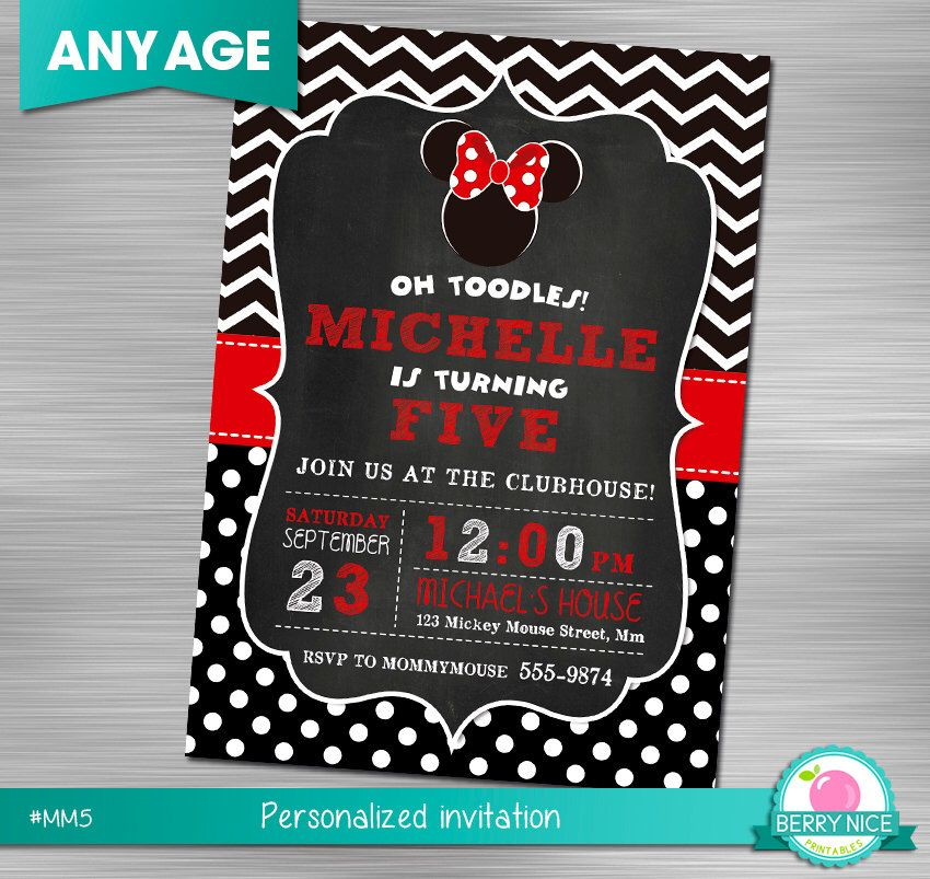 Minnie Mouse Invitation, Minnie Mouse Printable Invitation, Minnie Mouse Print Yourself Invitation, Minnie Mouse Birthday, Minnie Mouse by berryniceprintables on Etsy https://www.etsy.com/listing/249282488/minnie-mouse-invitation-minnie-mouse