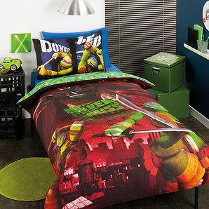 Teenage Mutant Ninja Turtles Ninja Power Quilt Cover Set Quilt Cover Sets Quilt Cover Ninja Turtle Bedroom