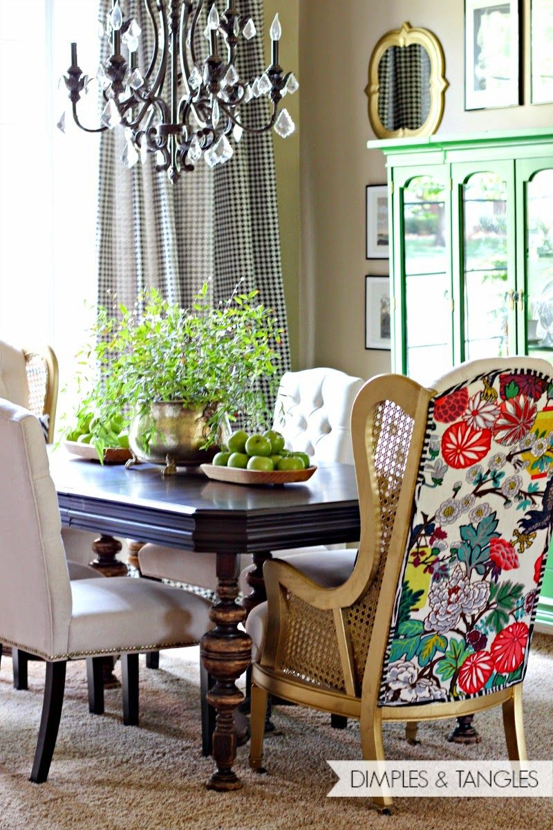 DINING ROOM HOST CHAIRS: TA-DA! | Pinterest | Room, Dining and ...