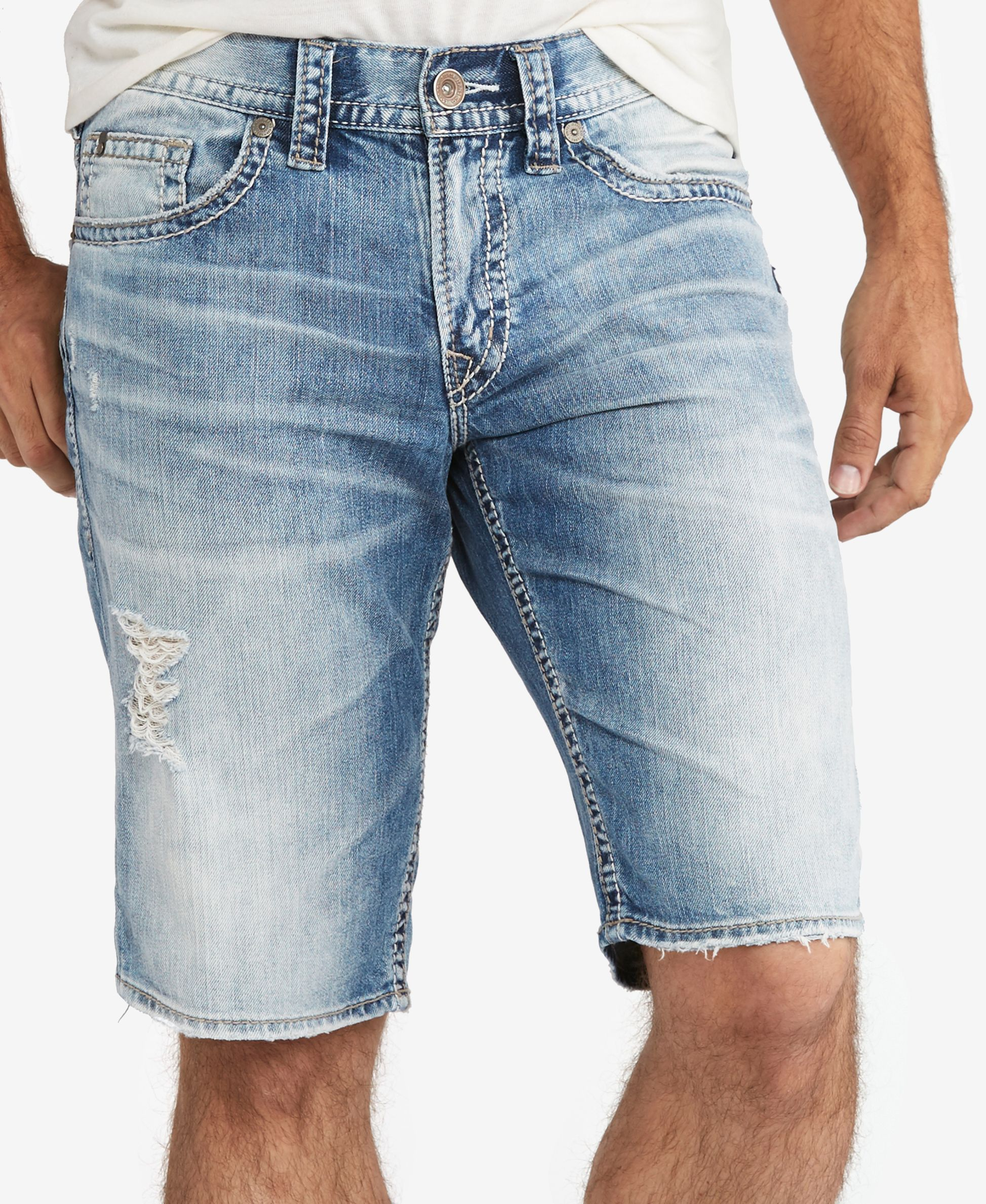 Mens Zac Short Silver Jeans Co