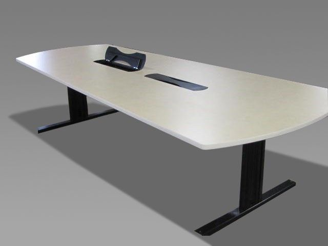 Laminate Conference Table With Dataelectrical Boxes Pre - Conference table electrical box