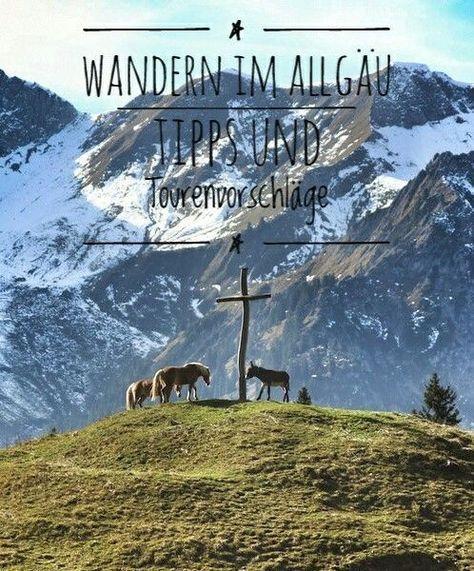 Wandern im Allgäu - Tipps und Tourenvorschläge einer Wanderbloggerin #aroundtheworldtrips