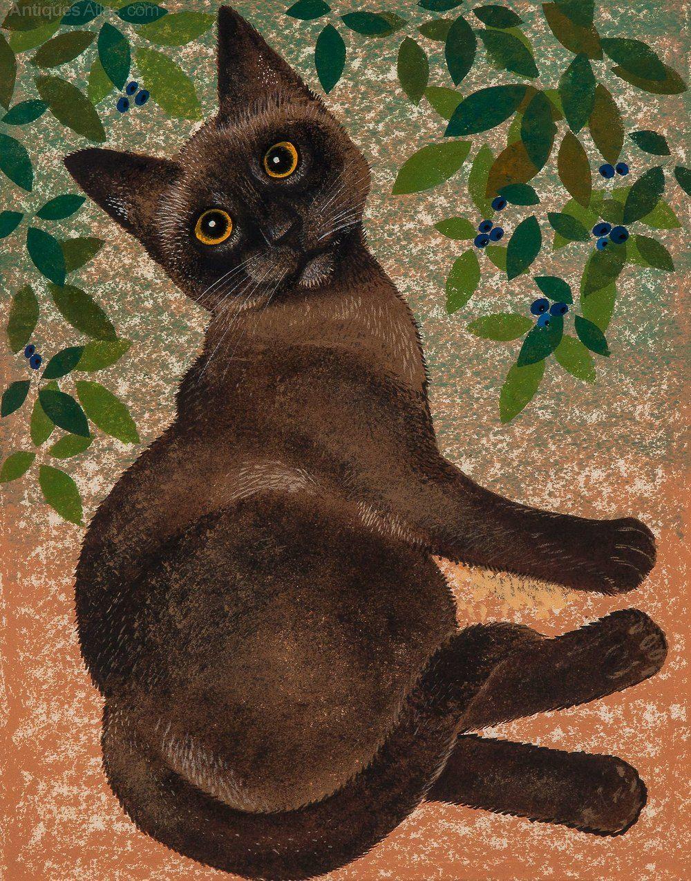 Leonard Weisgard Burmese Cat Cat Art Burmese Cat Cat
