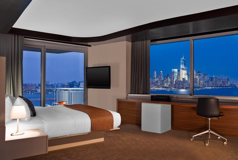 Hoboken New Jersey The W Stunning Views And Conveniently Located Near Path Train Station To Bring You Directly Into Nyc In A Matter Of Minutes