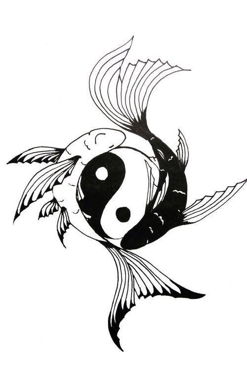 Yin Yang Yin Yang Tattoos Ying Yang Tattoo Yin Yang Koi