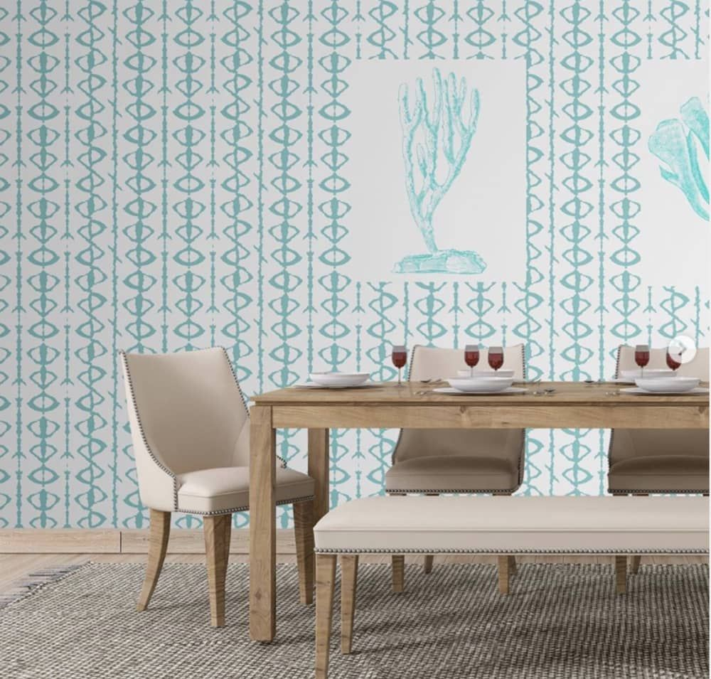 15 Removable Wallpaper Companies To Know Removable Wallpaper Striped Wallpaper Removable Wallpaper For Renters