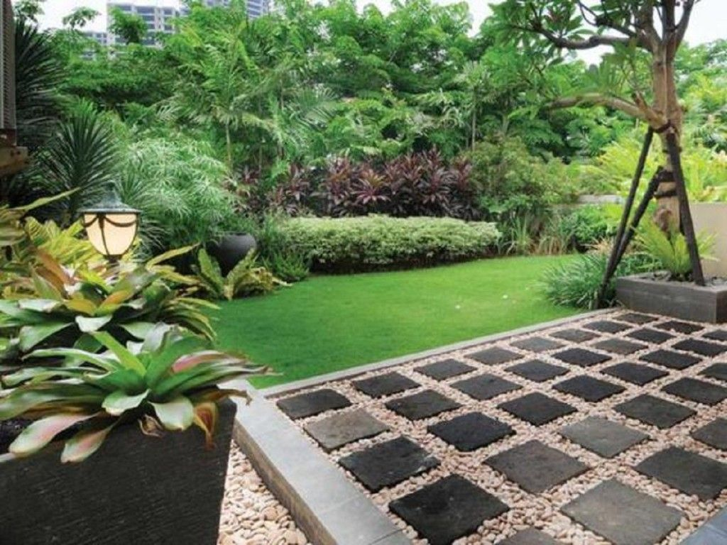 75 Desain Taman Belakang Rumah Minimalis Klasik Beberapa
