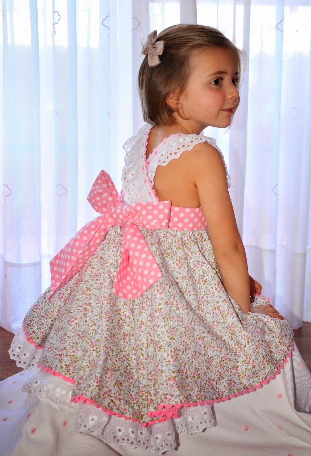 Vestidos para niña … | Vestidos | Pinterest | Vestidos para niños ...