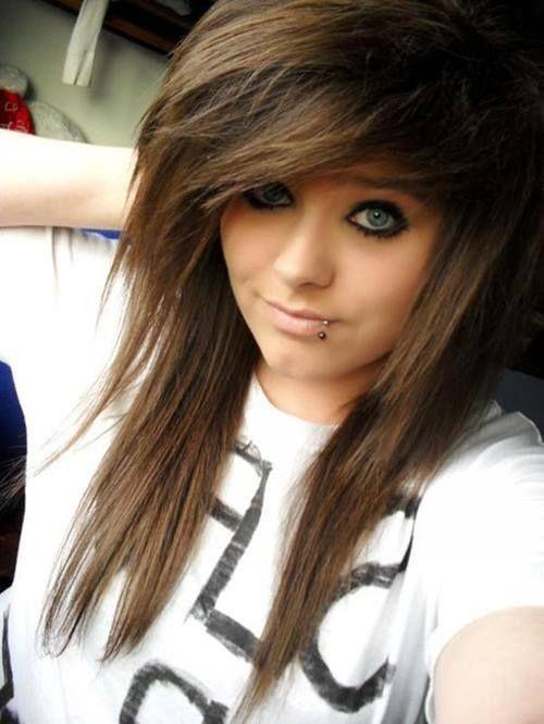 I Love Her Hair Style Brown Scene Hair Blonde Scene Hair Hair Styles