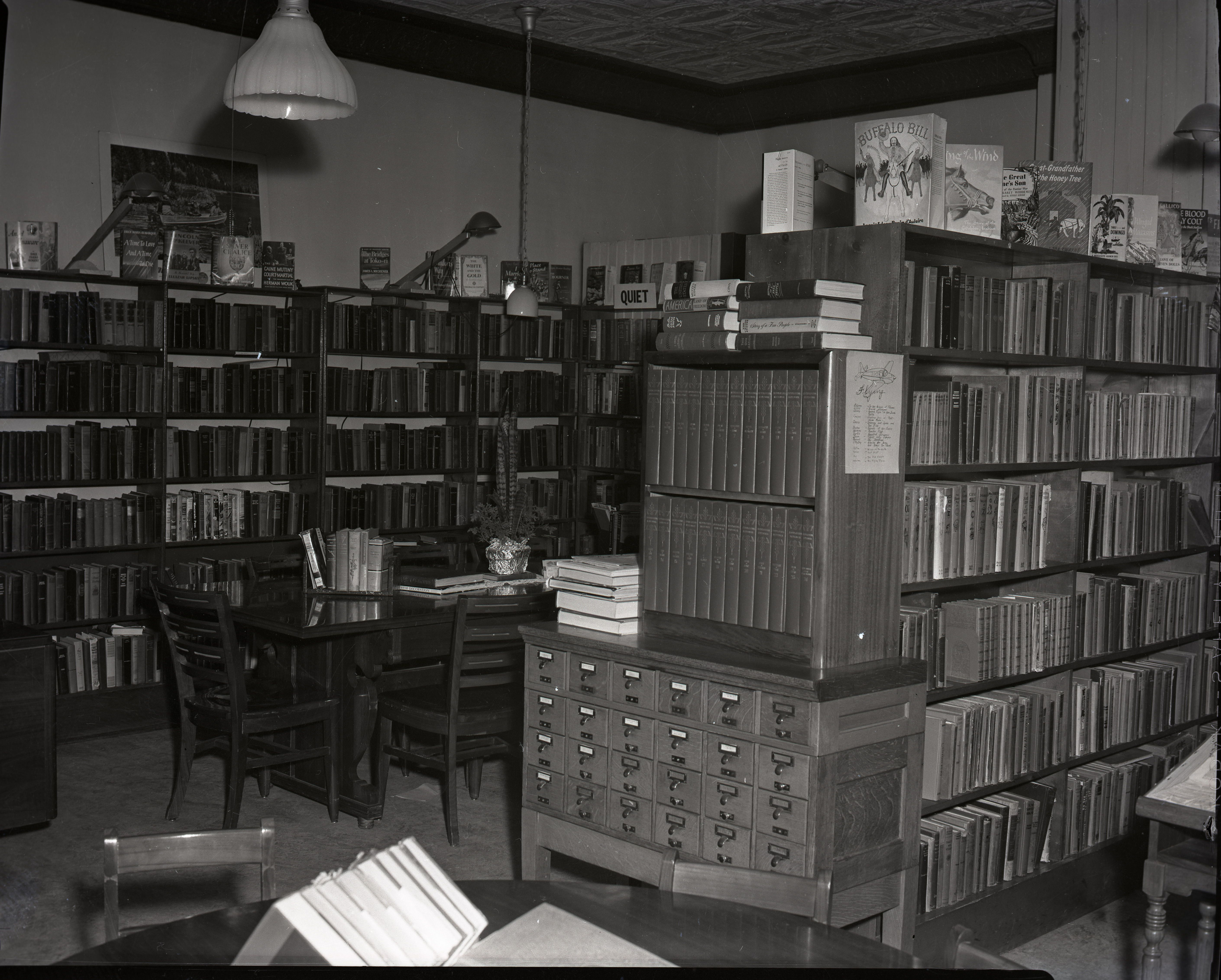 Brookfield Public Library Brookfield Illinois In The 1950 S Photo Courtesy Of Jeffery Johnson Brookfield Local History Library