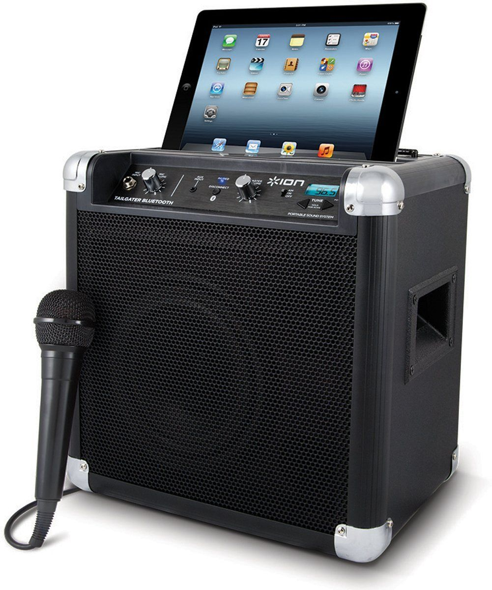 ION Tailgater Bluetooth Portable Speaker System Portable