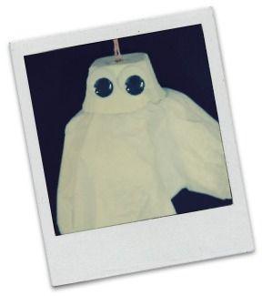 Halloween Craft for Kids - Spooky Little Ghost!