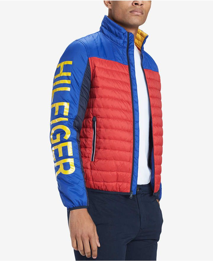 8feb06141e3b5e Tommy Hilfiger Men s Big   Tall Wilshire Colorblocked Insulator Jacket