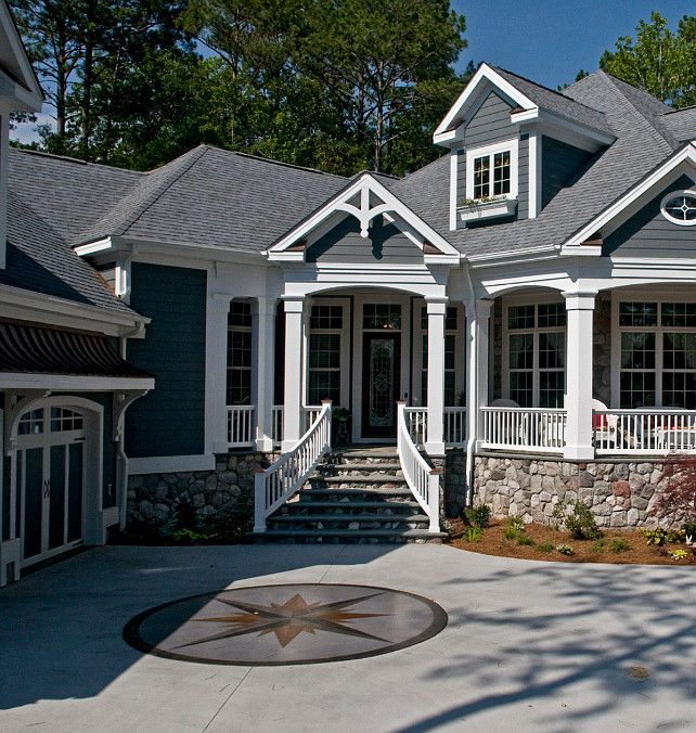 Blue Gray Exterior Paint Colors home exterior paint color. sherwin williams roycroft pewter