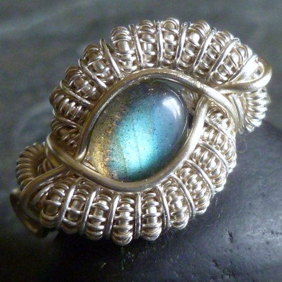 TUTORIAL - Dragon Eye Ring - Wire Wrapped Class - Jewelry Pattern ...