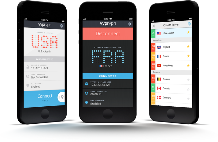 VyprVPN for iOS VPN App for iPhone & iPad Golden Frog