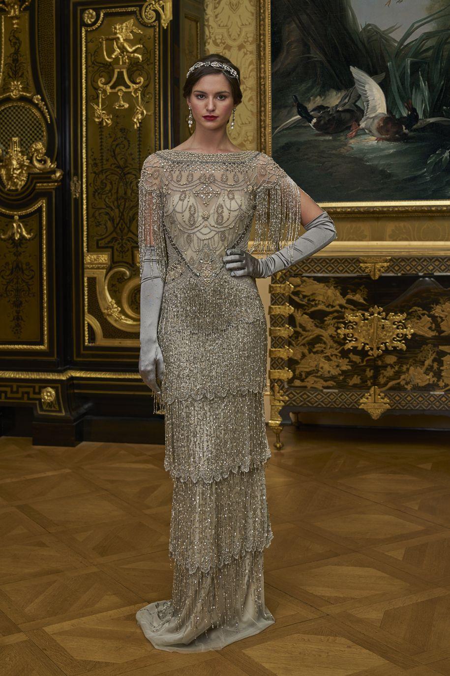 Eliza Jane Howell Padua Wedding Dress Art Deco Wedding Dress
