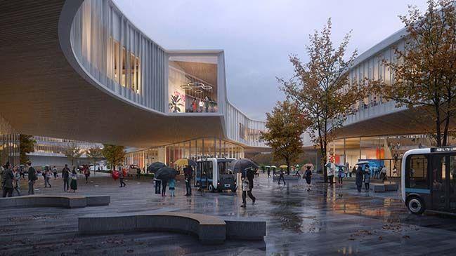Ford Dearborn Masterplan van Snøhetta   - Architecture -