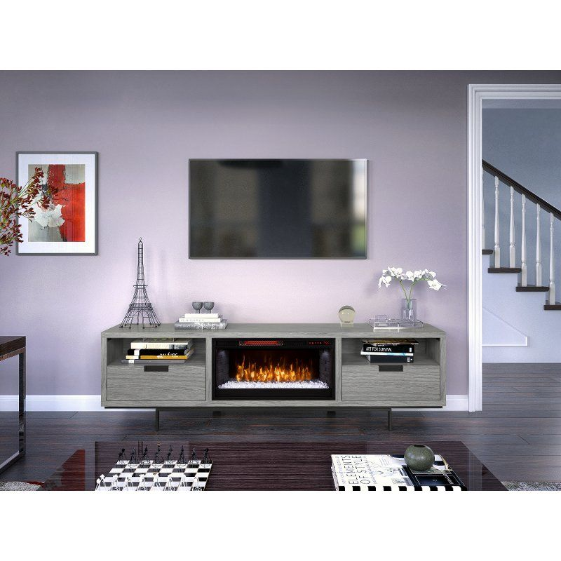 Https Static Rcwilley Com Products 111679826 78 Inch Modern Gray Fireplace Tv Stand Wynwood Rcwi In 2020 Fireplace Tv Stand Grey Fireplace Tv Stand White Fireplace